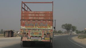 Truck in Rajasthan road